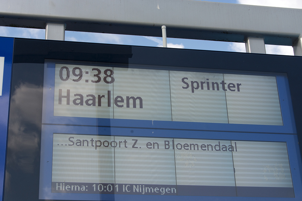 Train to Heerhugowaard