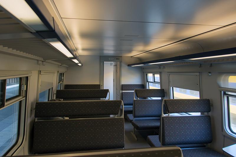 Belgian 843 interior