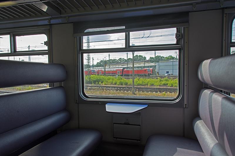 Aachen rail yard