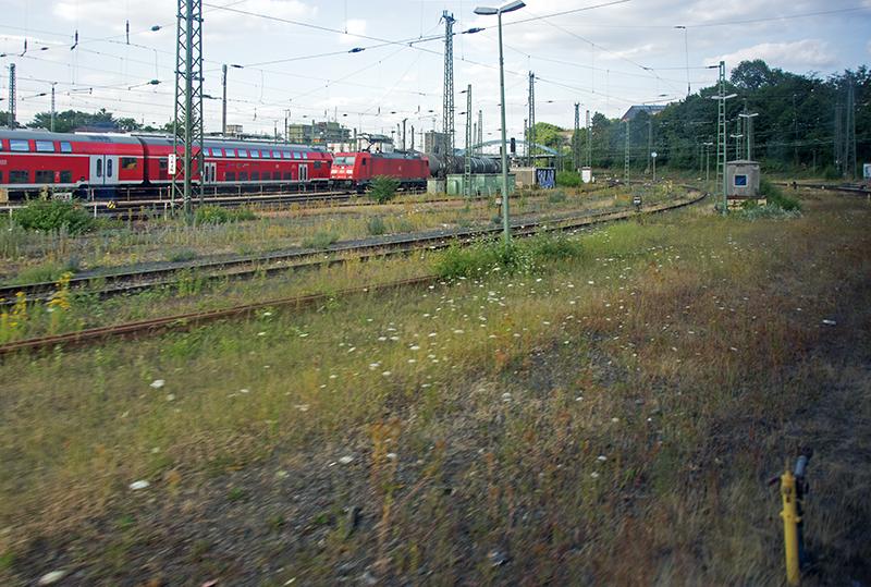 Aachen Hbf rail yard