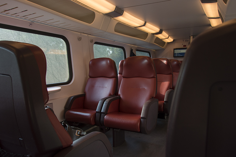 1st class interior