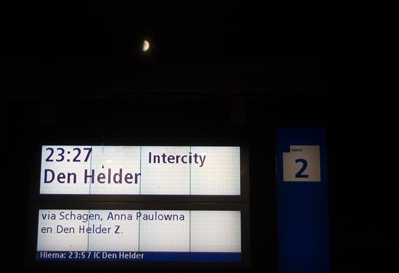 Heerhugowaard destination board