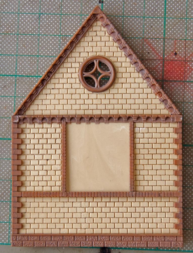 Back wall of church kit
