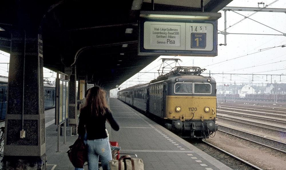 D-train in Maastricht